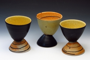 3rd Place - Goblets by Delores Fortuna - Galena, IL