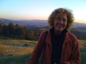 Joyce with Bon at Djerassi (6)
