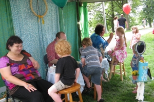 Face Painting Tent