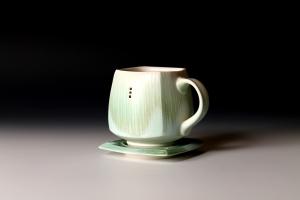 34 ND Mug & Saucer